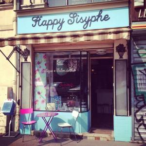 Happy sisyphe vitrine